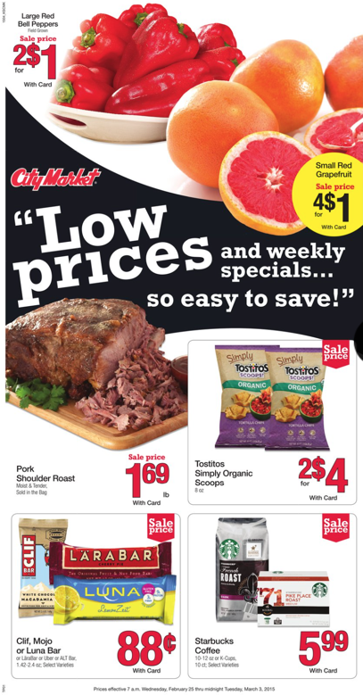 City Market weekly ad 07