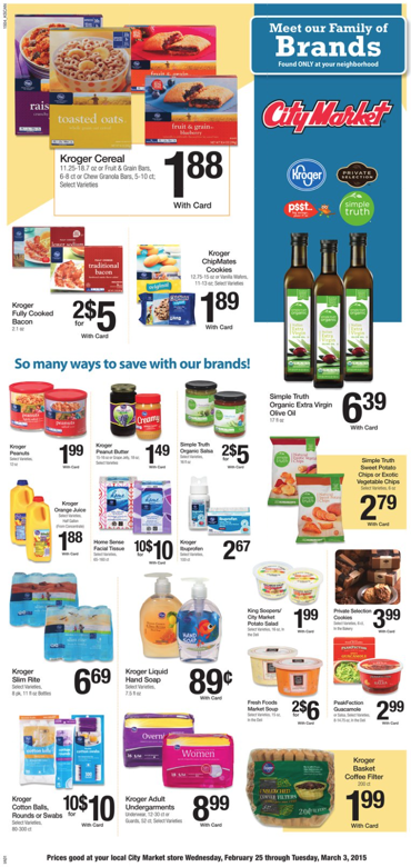 City Market weekly ad 09