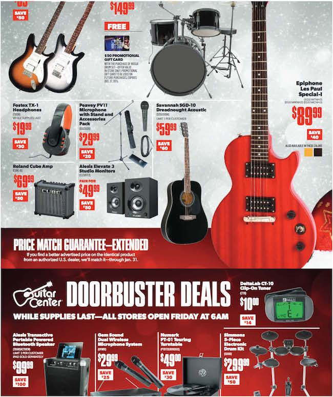 Guitar Center Weekly Ad Weekly Ads