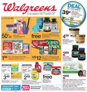 Walgreens Ad Circular March 15 – 21, 2015