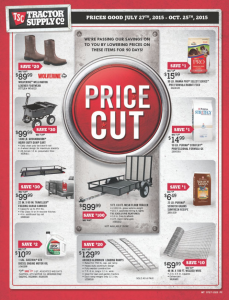 Tractor Supply Ad