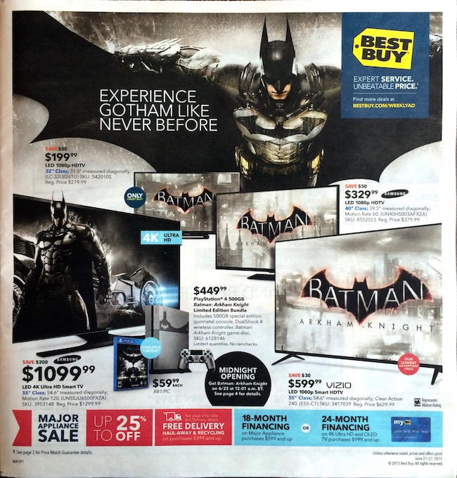Best Buy Ad 6-21-2015
