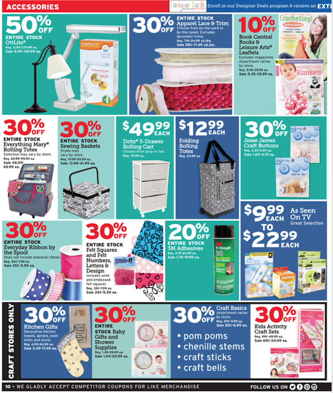 Joann's Fabric Store Coupons