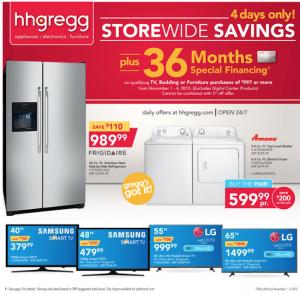 hhgregg weekly ad