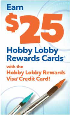 Hobby Lobby Rewards credit card