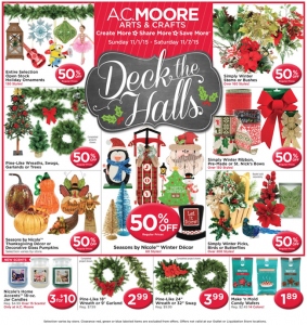 AC Moore Weekly Ad