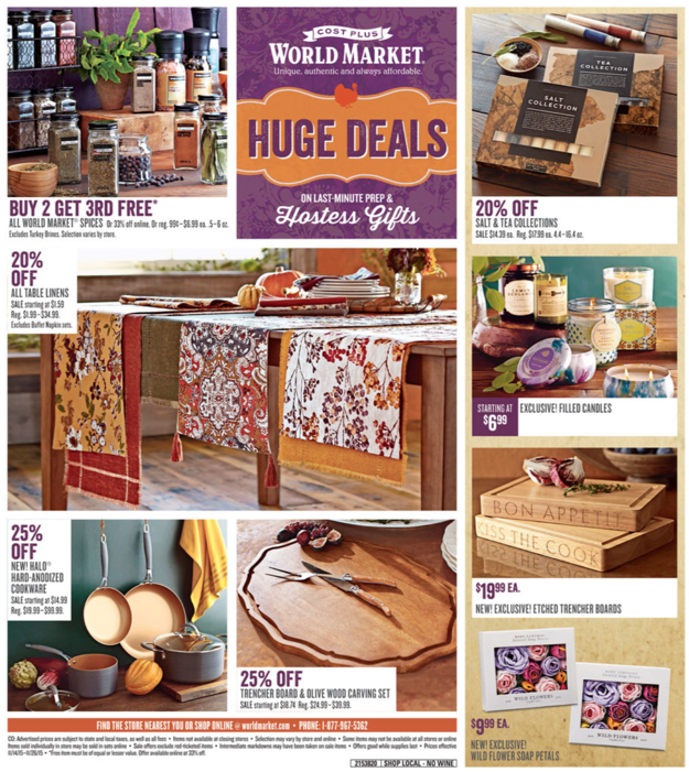 World Market weekly ad