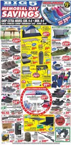 Big 5 weekly ad