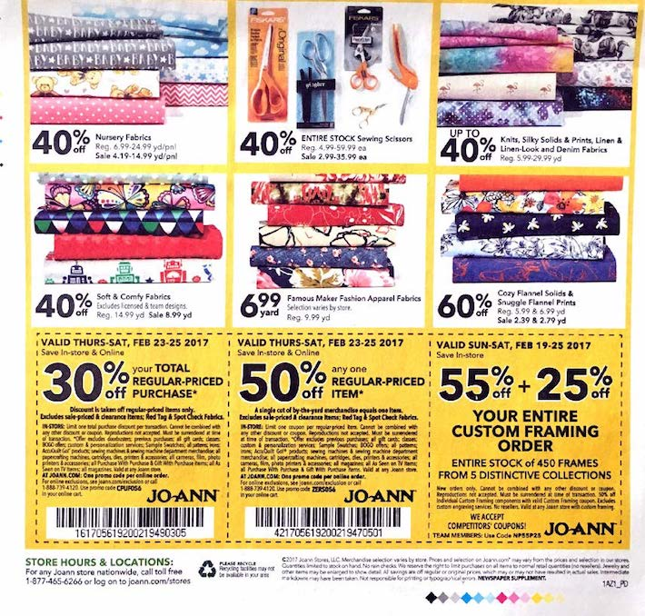 You have spent a lot of time buying your craft equipment and fabric from Joann simply because their supplies make your crafts look great. You save a bunch of money making your own quilts, clothes, and so many other things that it can be hard to save even more.