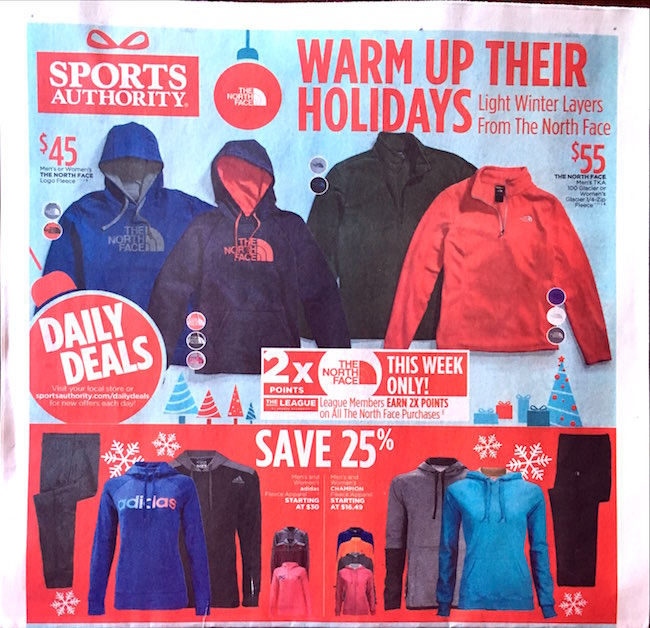 Sports Authority ad
