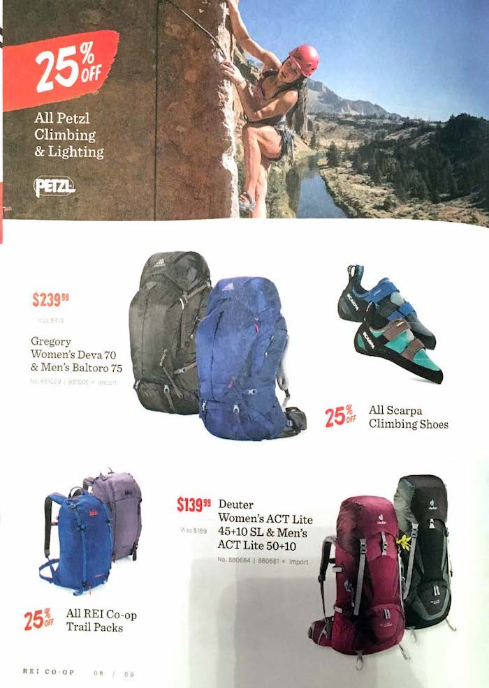 Mail In Rebate Offers >> REI Weekly Ad - Weekly Ads