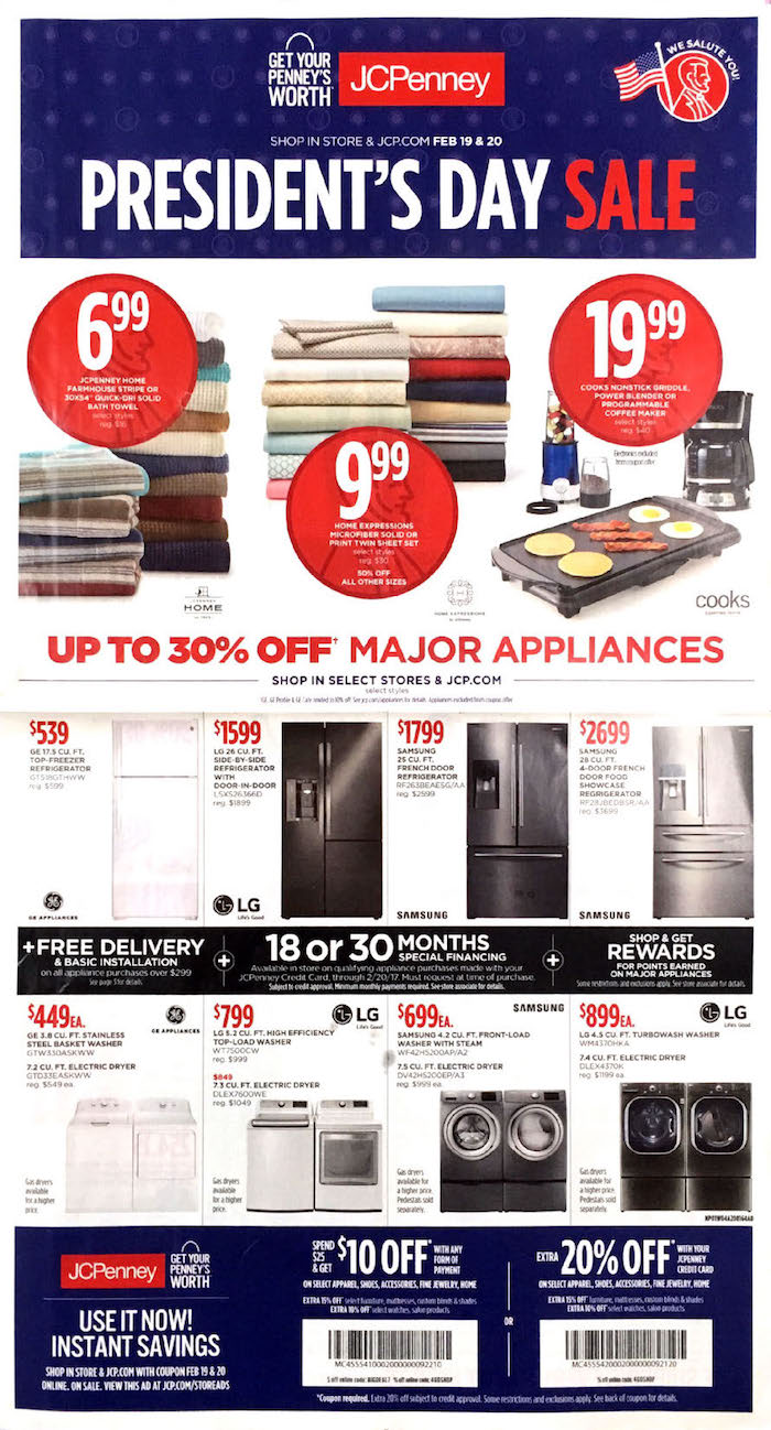 JCPenney Sales Ad