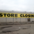Stores going out of business sale.