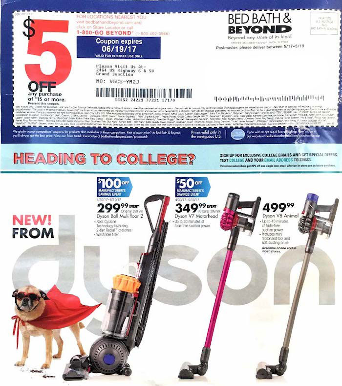 bed bath and beyond flyer coupon