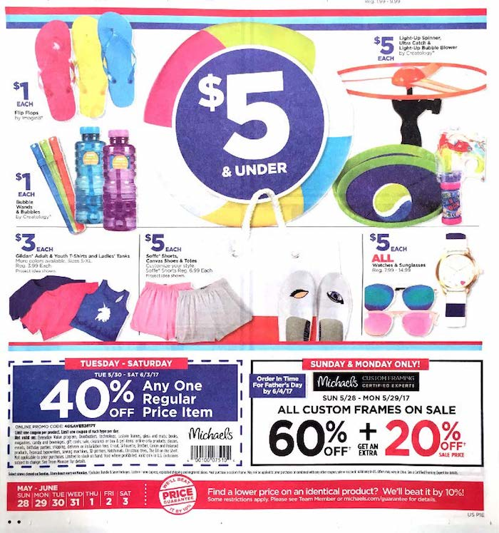 michaels weekly ad craft store savings weekly ads