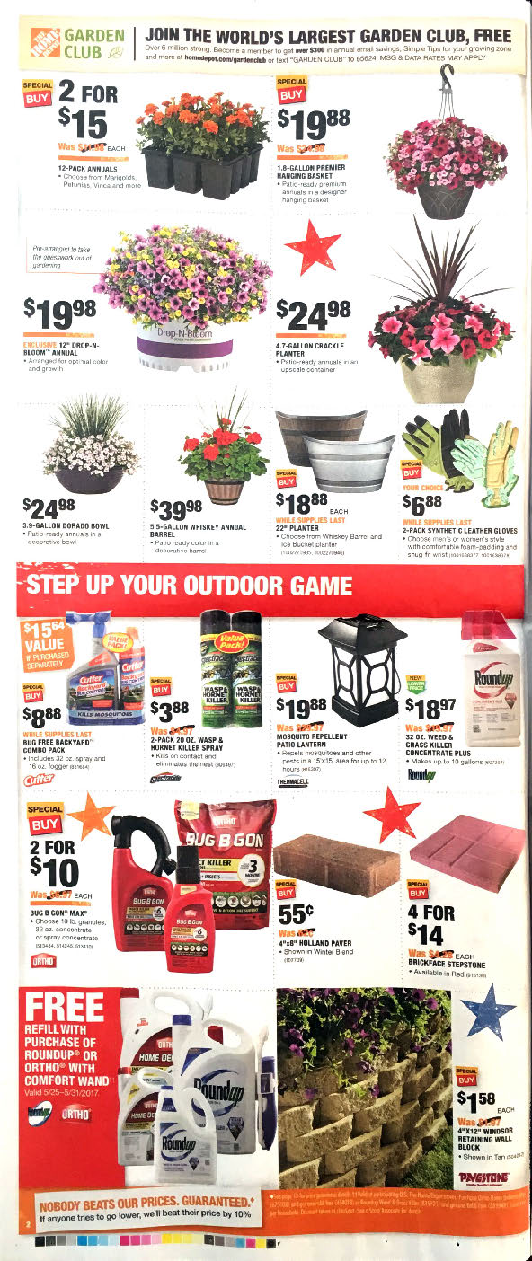 Complete coverage of Home Depot Weekly Ad, Weekly Circular & Flyer/5(18).