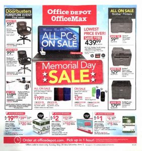 Office Depot Weekly Ad and OfficeMax Ad