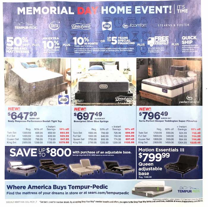 Find the latest weekly circular ad & Sunday flyer for Sears here. Also, save with coupons and the latest deals from Sears.