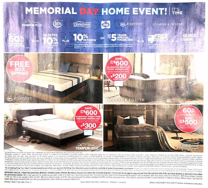 sears weekly ad weekly ads. Black Bedroom Furniture Sets. Home Design Ideas