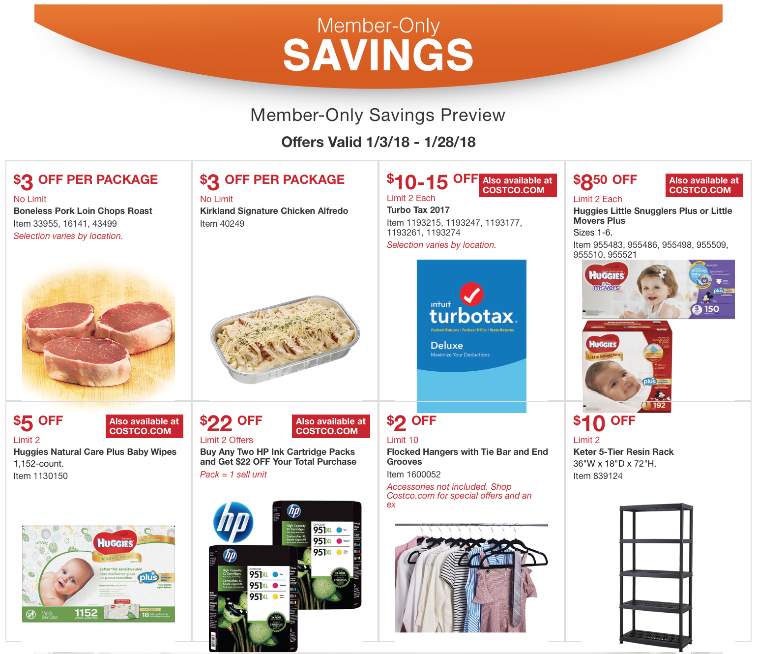 Costco Member Savings