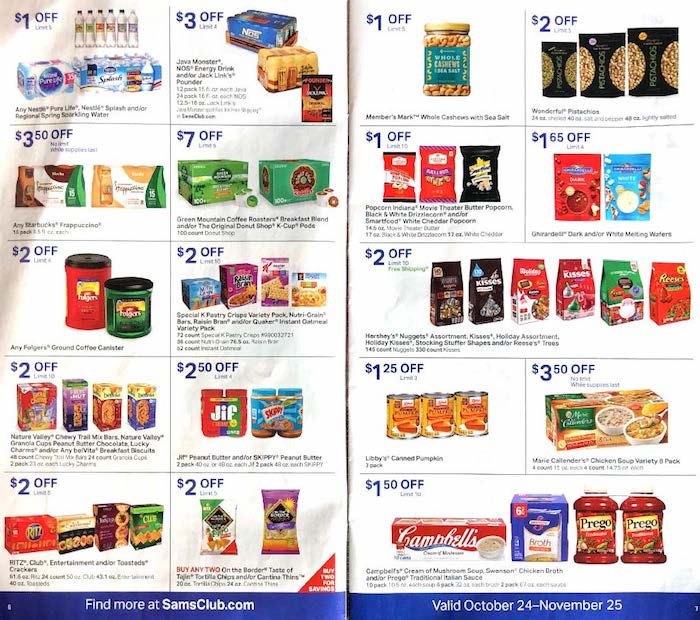 2019 Sams Club Holiday Hours And Schedule Savingadvice Com >> Sams Club Ad Instant Savings For The Month Weekly Ads
