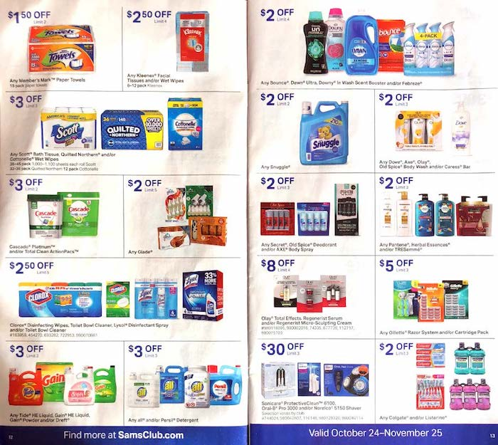 Sams Club Ad Amp Instant Savings For The Month Weekly Ads