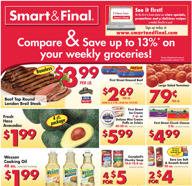 Smart Final weekly ad