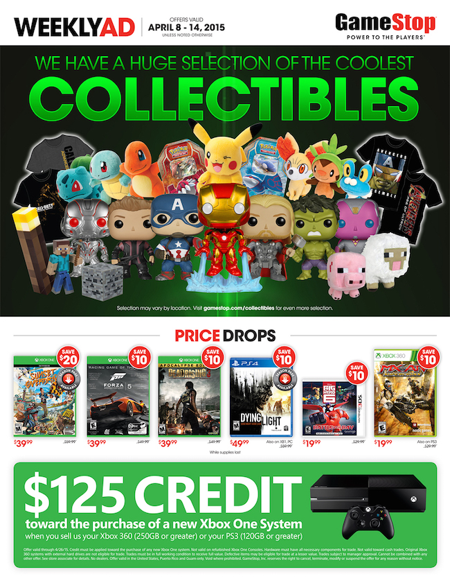 Game Stop ad