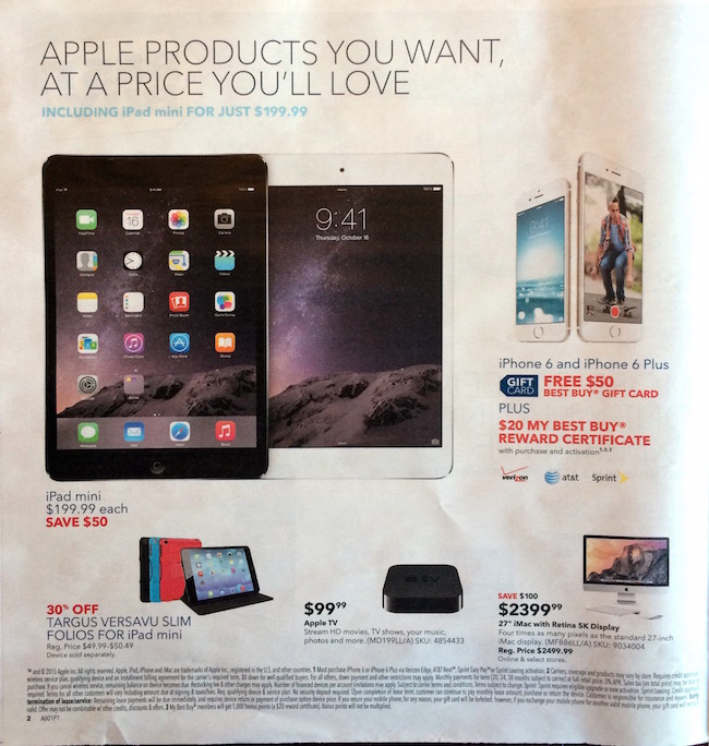 Best Buy ad March 15, 2015