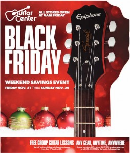 Guitar Center ad