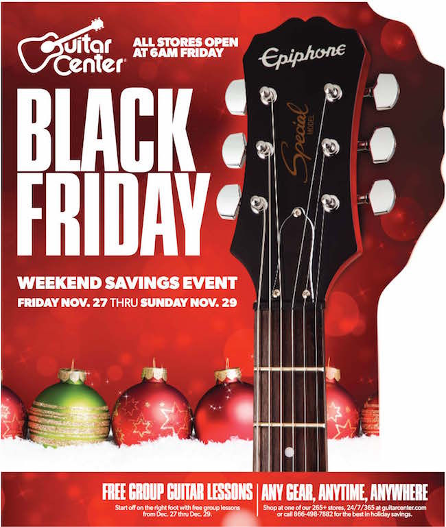 guitar center weekly ad weekly ads. Black Bedroom Furniture Sets. Home Design Ideas