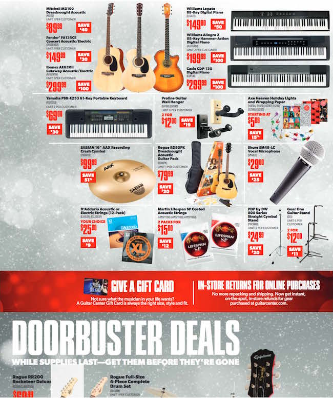 Guitar Center Black Friday Ad_Page_2