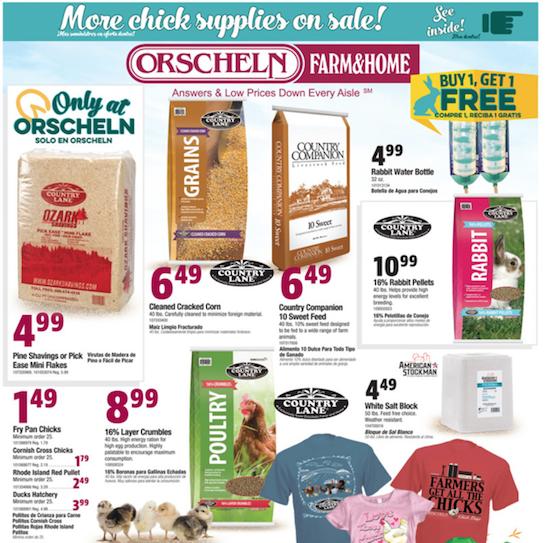 Orscheln weekly ad