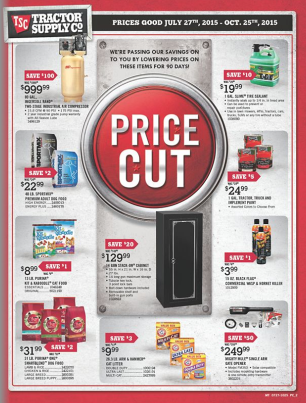 Tractor Supply Ad 2