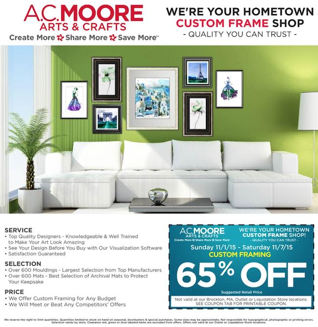 AC Moore weekly ad 00010