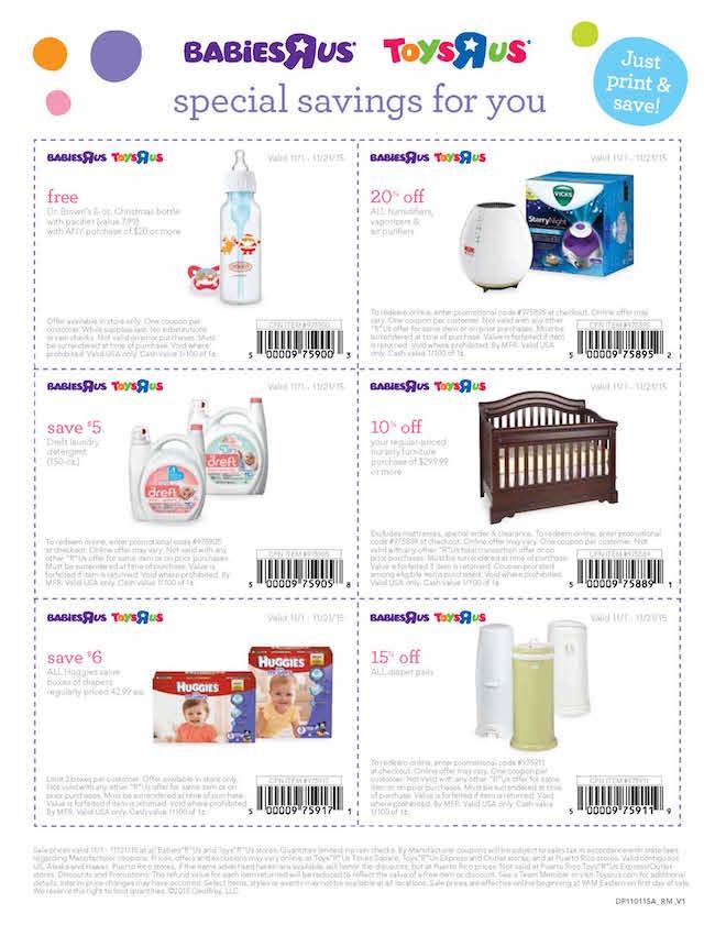 BabiesRUs weekly Ad