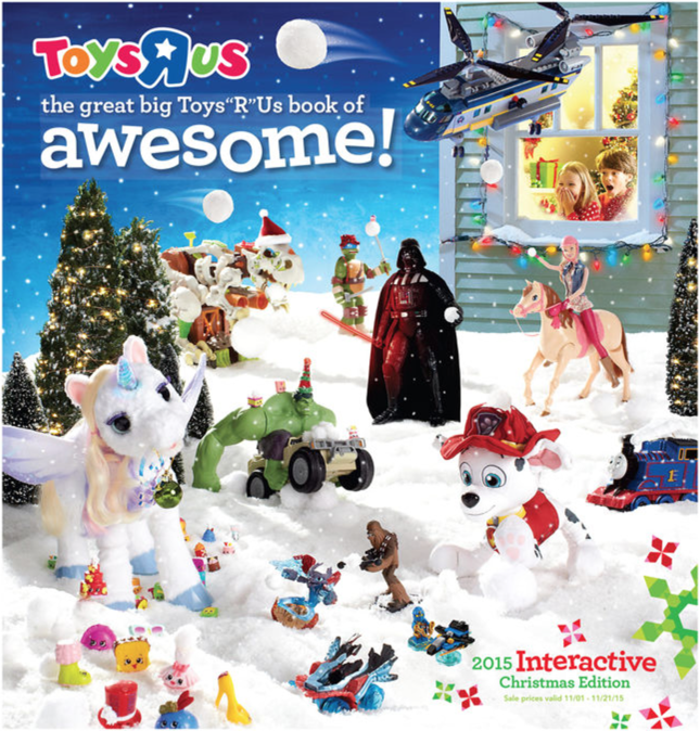 ToysRUs weekly ad