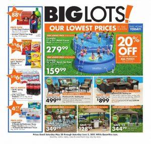 Big Lots weekly ad